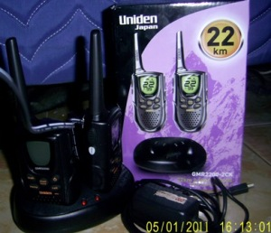 Jual Walky Talky Uniden GMR-2200-2CK Pusat Jual Walkie Talkie Uniden GMR2200-2CK Harga Murah